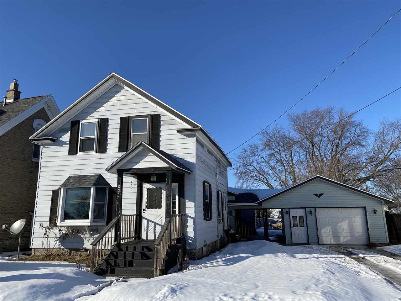 View Single-Family Home For Sale at 1820 SHERMAN STREET, Marinette, WI