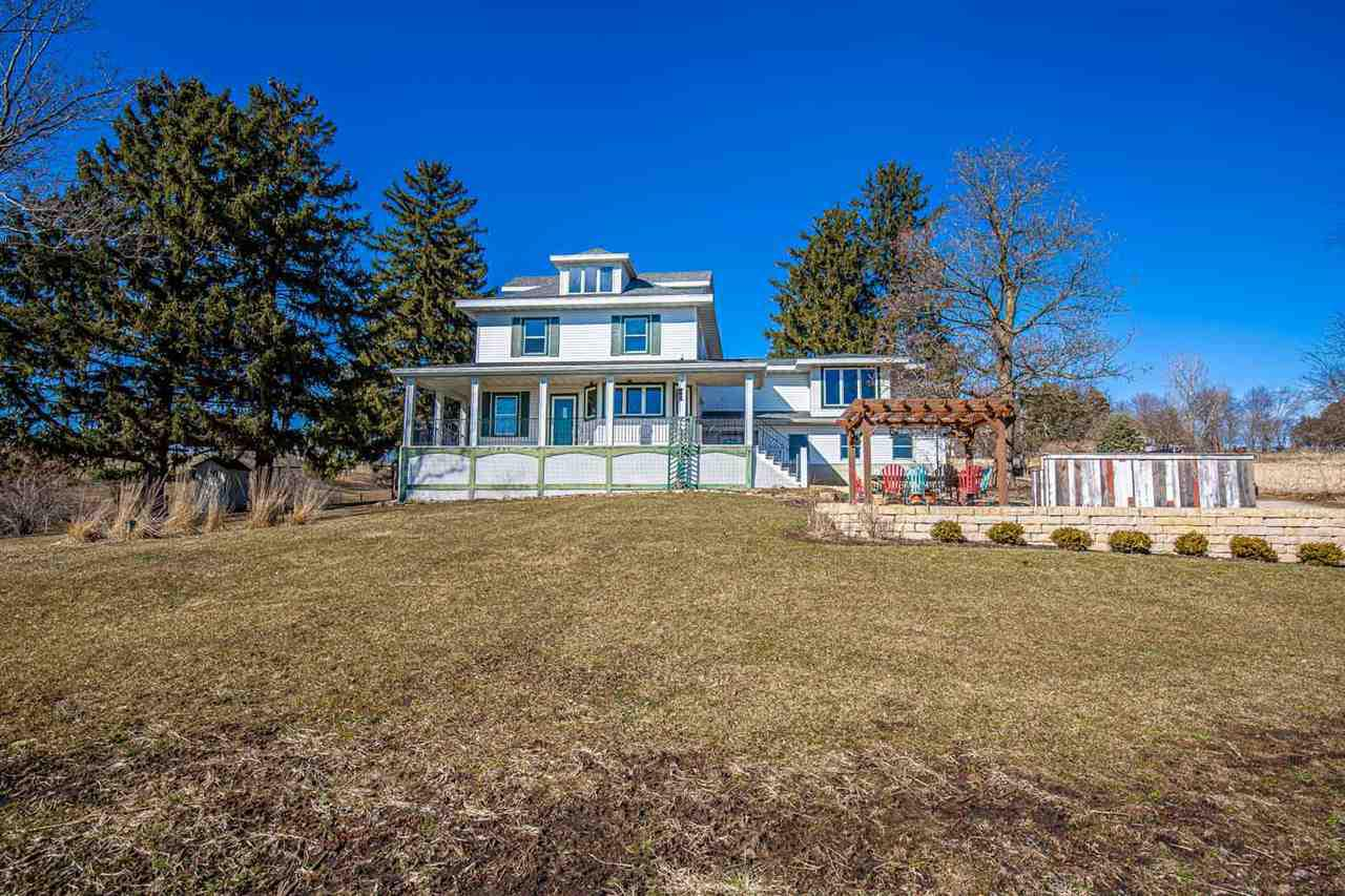 View Single-Family Home For Sale at W8917 Buckhorn Rd, Browntown, WI
