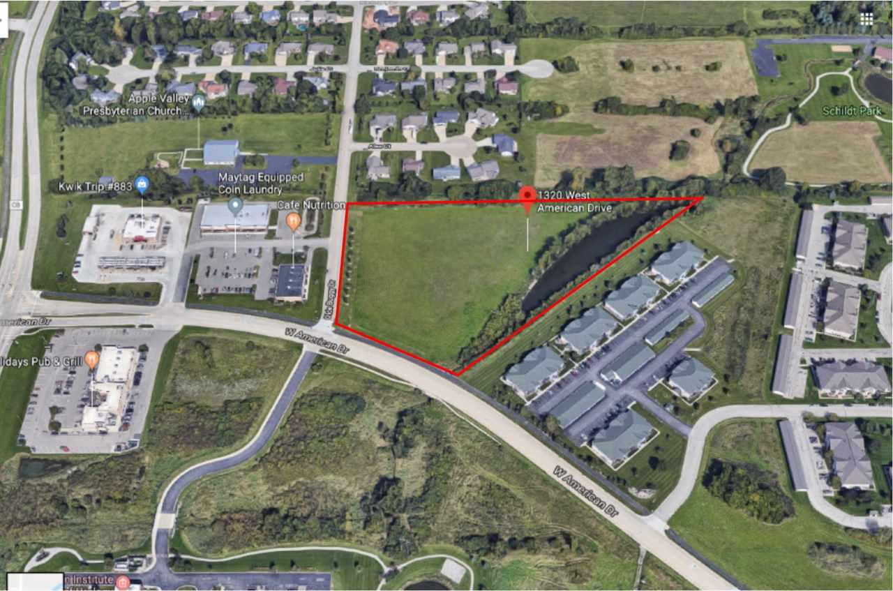 View Vacant Land For Sale at 1320 W AMERICAN DRIVE, Neenah, WI