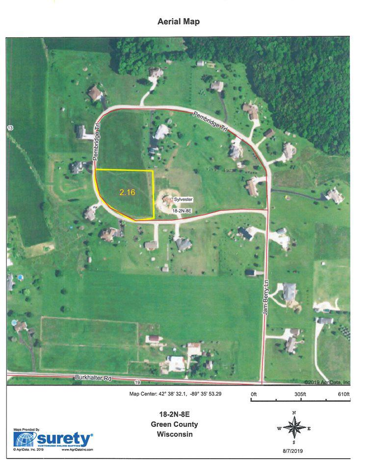 View Vacant Land For Sale at 2.16 Ac Pembridge Tr, Monroe, WI