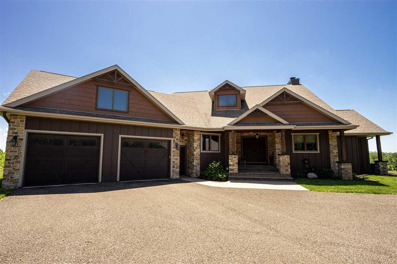 View Single-Family Home For Sale at N8217 County Road X, Belleville, WI