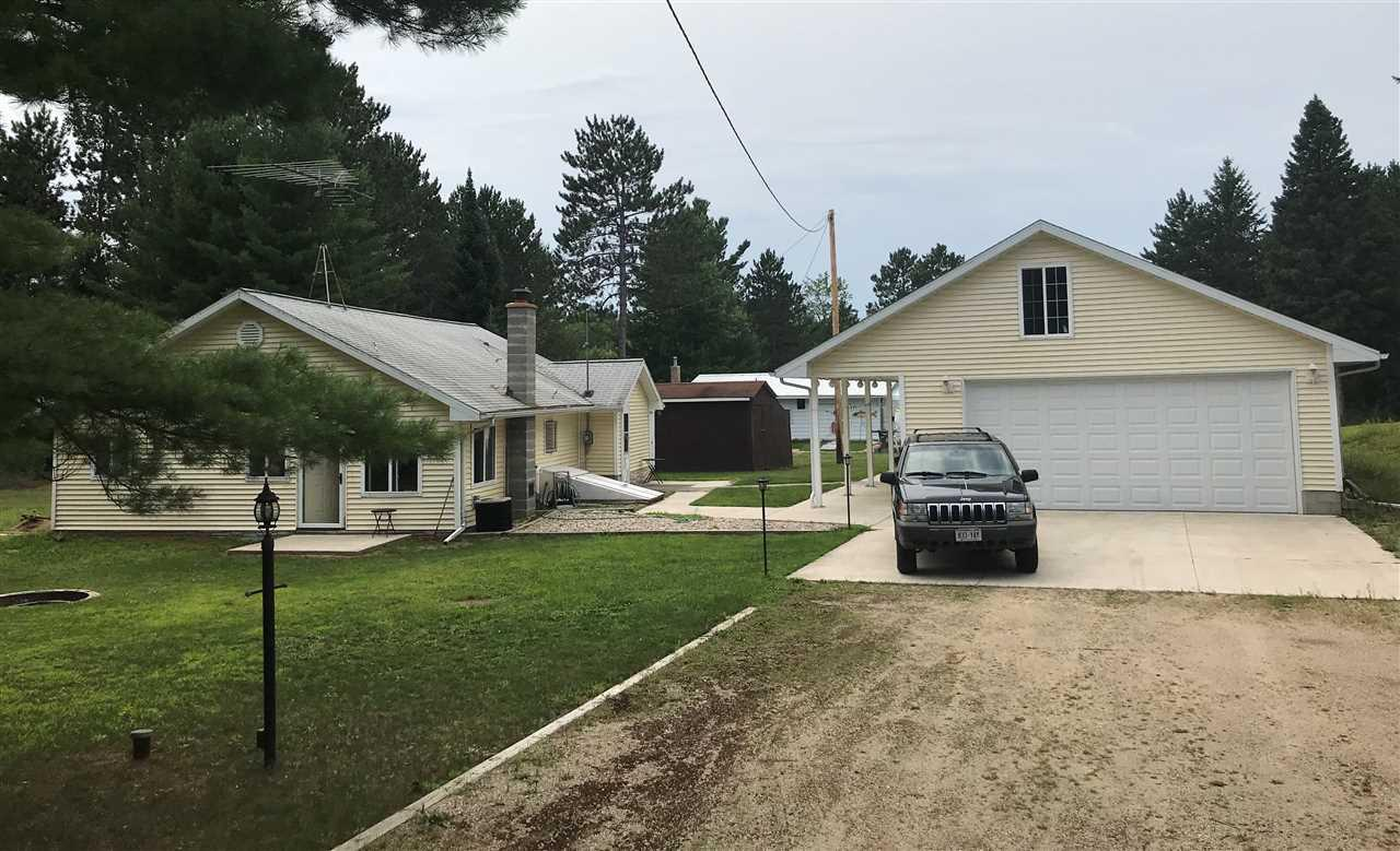 View Single-Family Home For Sale at N11785 DEER LAKE ROAD, Athelstane, WI