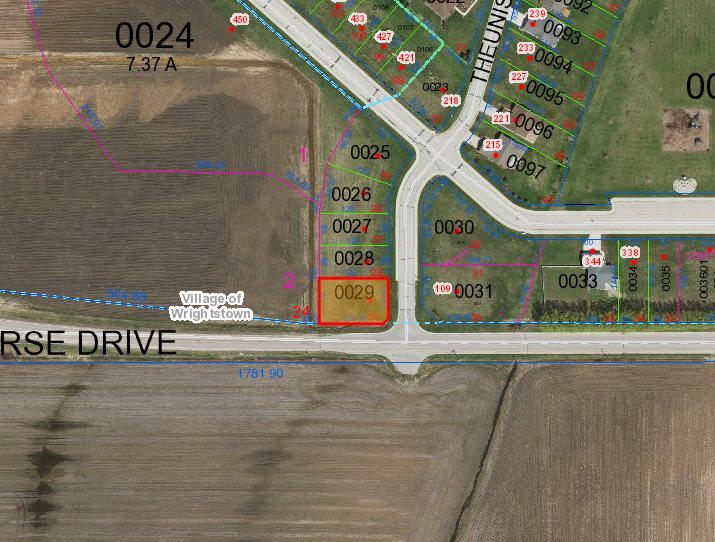 View Vacant Land For Sale at 106 THEUNIS DRIVE, Wrightstown, WI