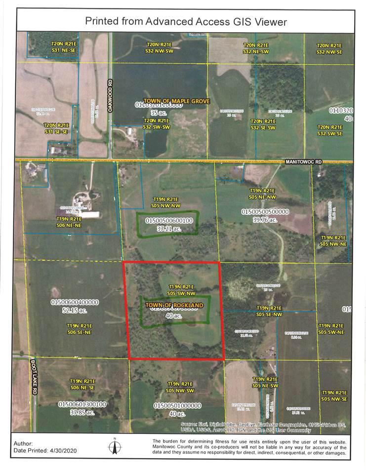 View Vacant Land For Sale at MANITOWOC ROAD, Reedsville, WI