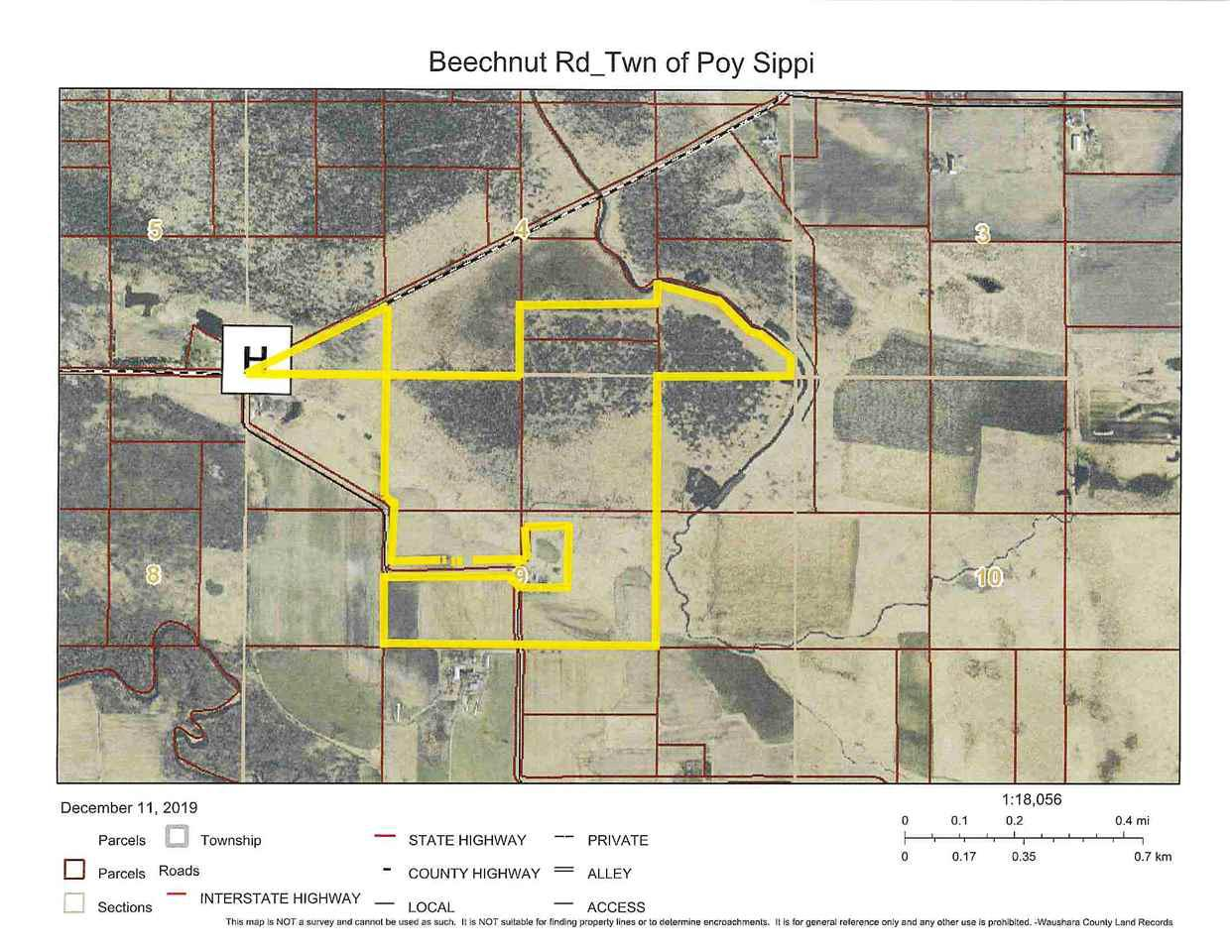View Vacant Land For Sale at BEECHNUT ROAD, Pine River, WI
