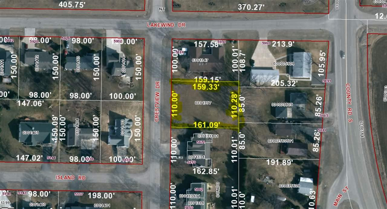 View Vacant Land For Sale at 5880 CRESTVIEW DRIVE, Butte Des Morts, WI