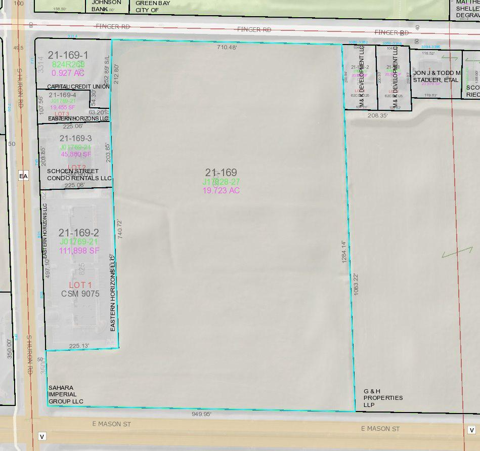 View Vacant Land For Sale at 3500 FINGER ROAD, Green Bay, WI