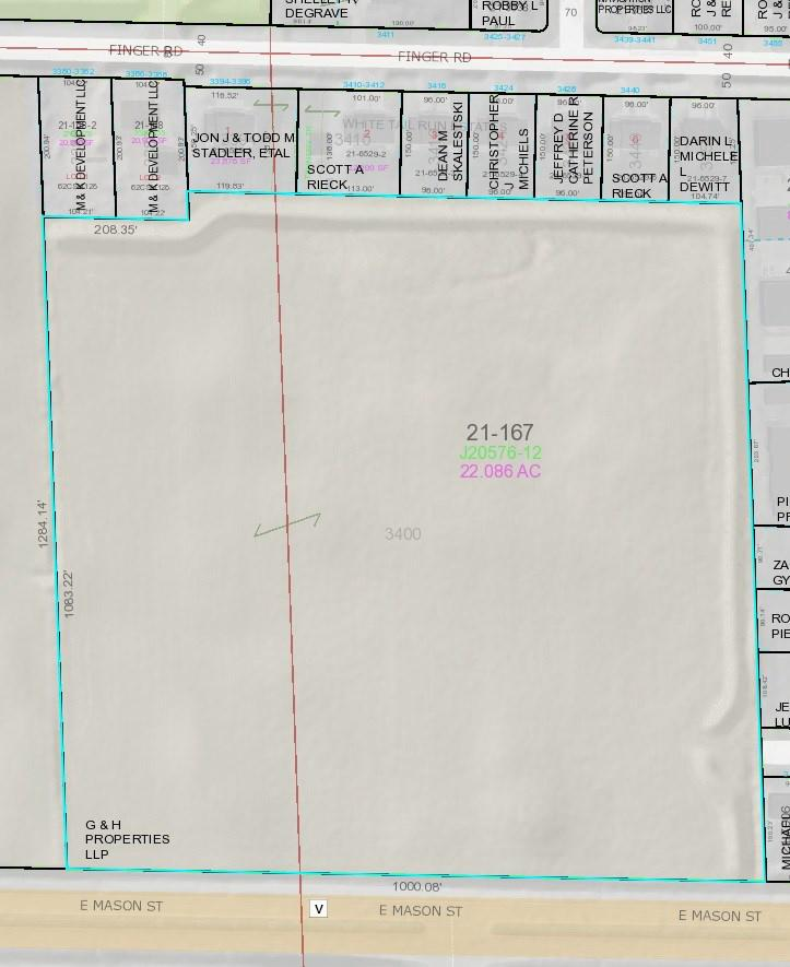 View Vacant Land For Sale at 3400 FINGER ROAD, Green Bay, WI