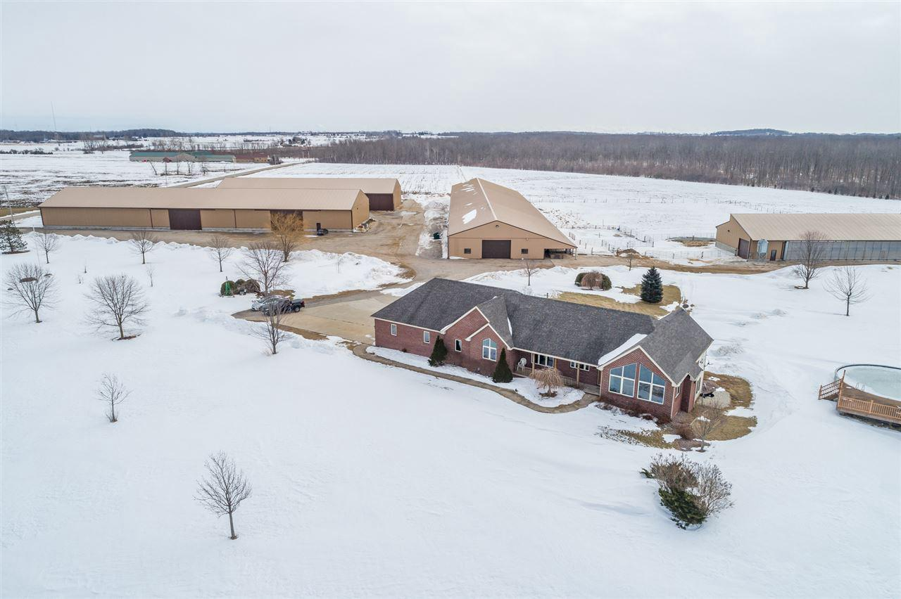 View Single-Family Home For Sale at 2054 MILL ROAD, Greenleaf, WI