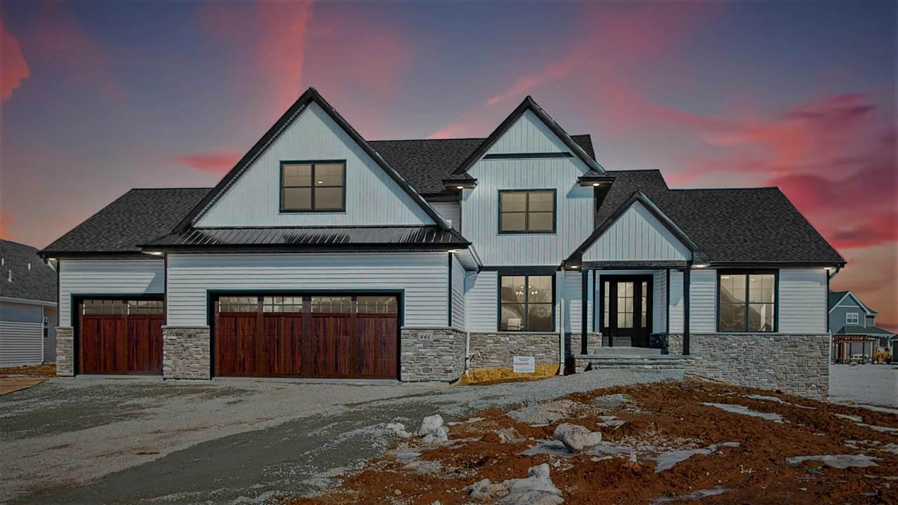 View Single-Family Home For Sale at 446 WOODFIELD PRAIRIE WAY, Hobart, WI