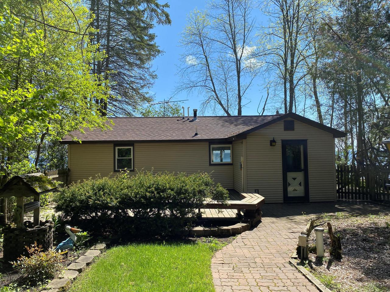 View Single-Family Home For Sale at N4420 Hwy M-35, INGALLSTON, MI