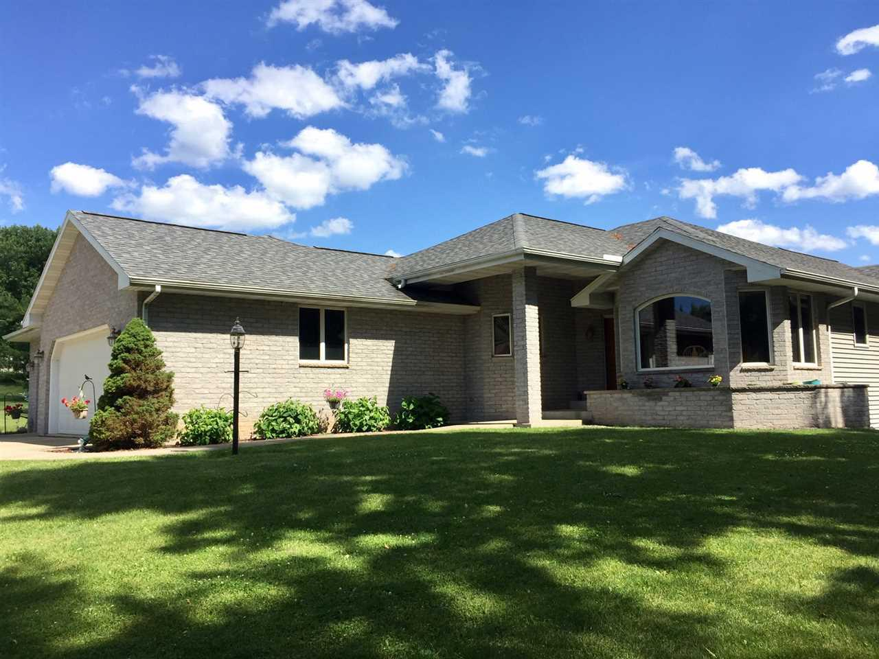 View Single-Family Home For Sale at W4695 Woodridge Dr, Monroe, WI