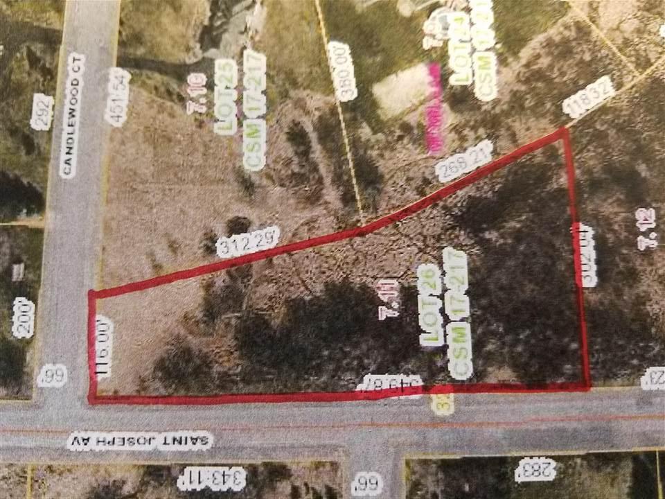 View Vacant Land For Sale at lot 26 & 27 SAINT JOSEPH AVENUE, Marshfield, WI