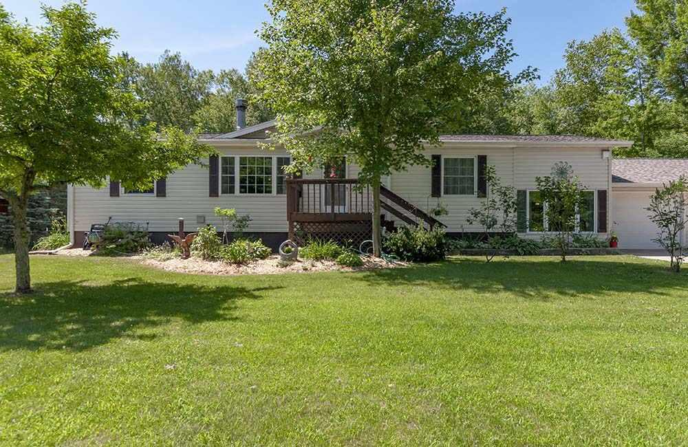View Single-Family Home For Sale at W2183 RAYGO LANE, Marinette, WI