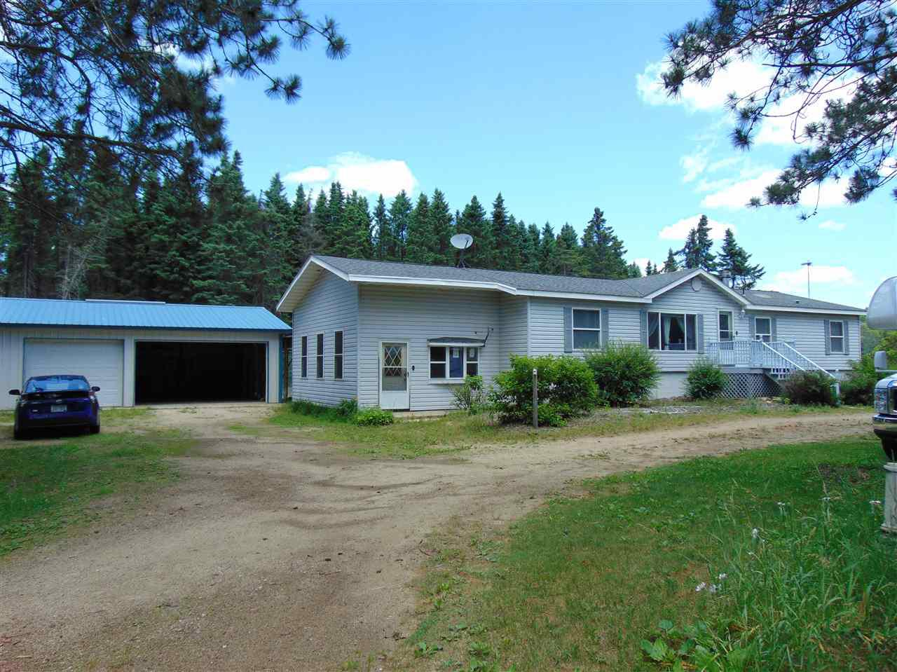 View Single-Family Home For Sale at N3630 HWY 110, Weyauwega, WI