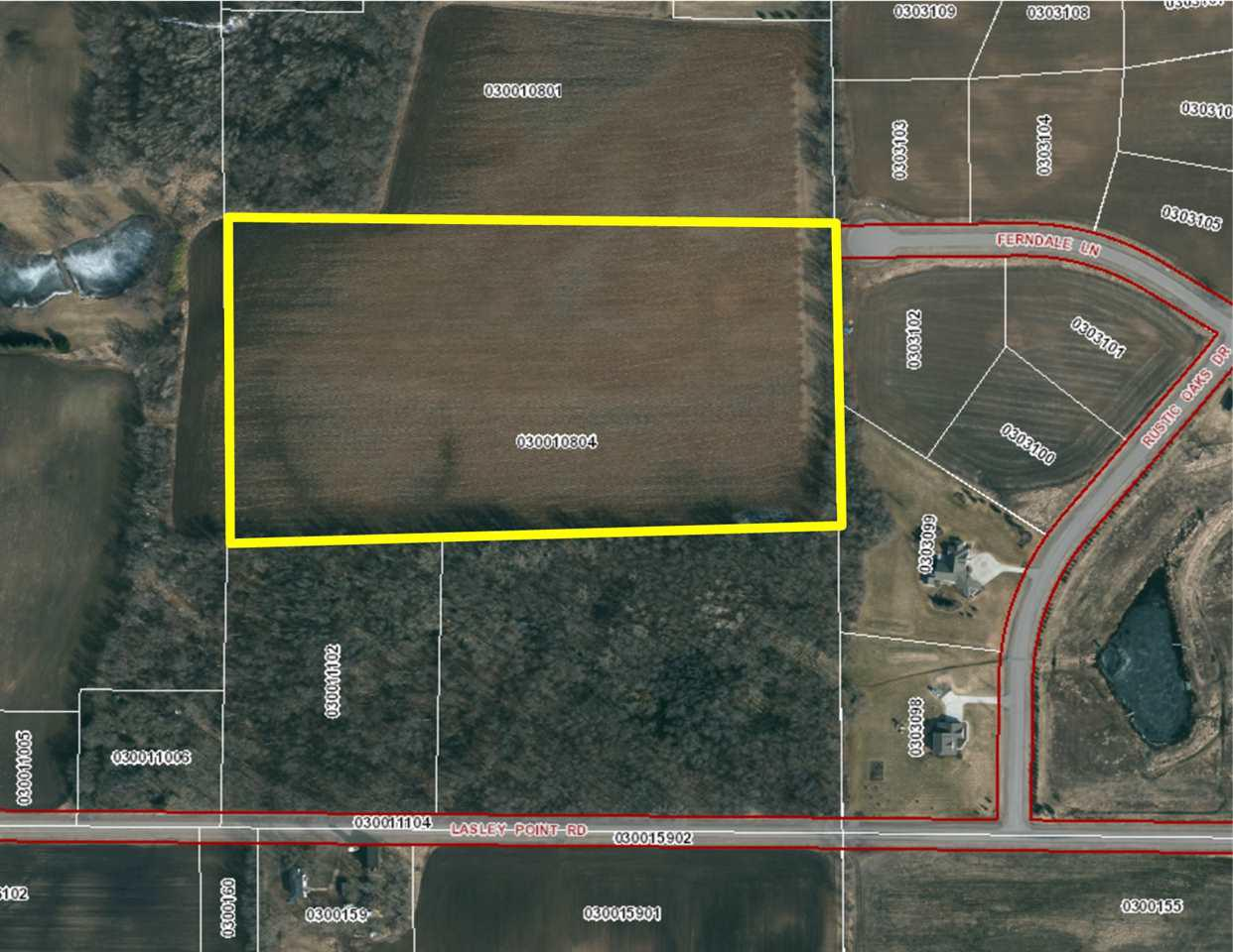 View Vacant Land For Sale at FERNDALE LANE, Winneconne, WI