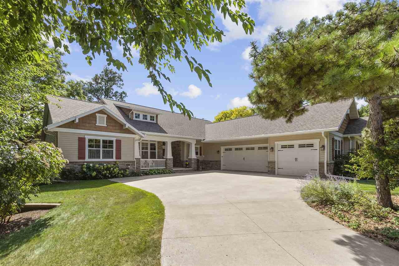 View Single-Family Home For Sale at 1239 BAY SHORE DRIVE, Oshkosh, WI