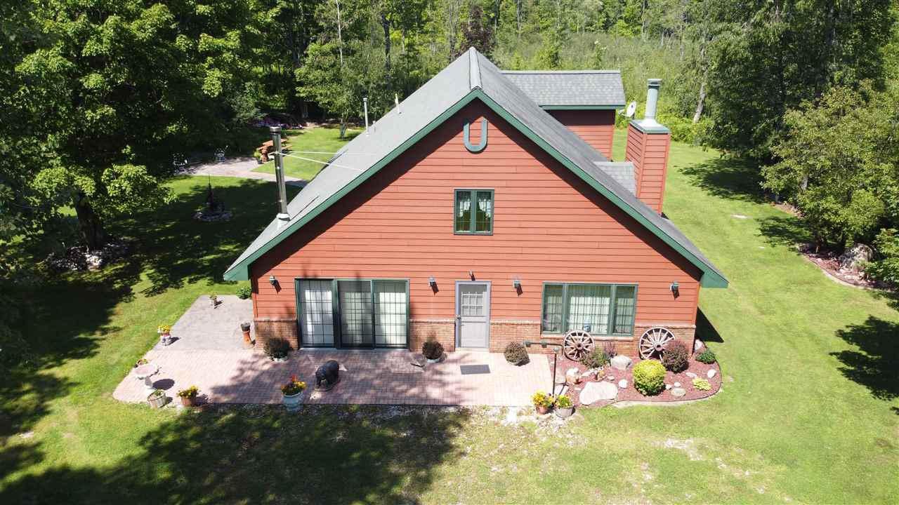 View Single-Family Home For Sale at 16391 HWY C, Silver Cliff, WI