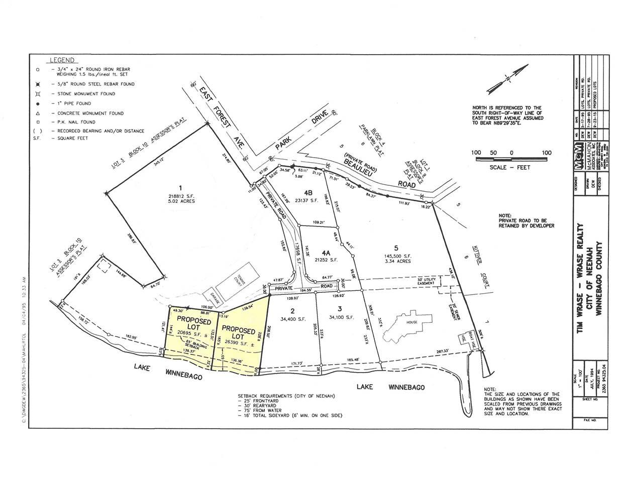 View Vacant Land For Sale at E FOREST AVENUE, Neenah, WI