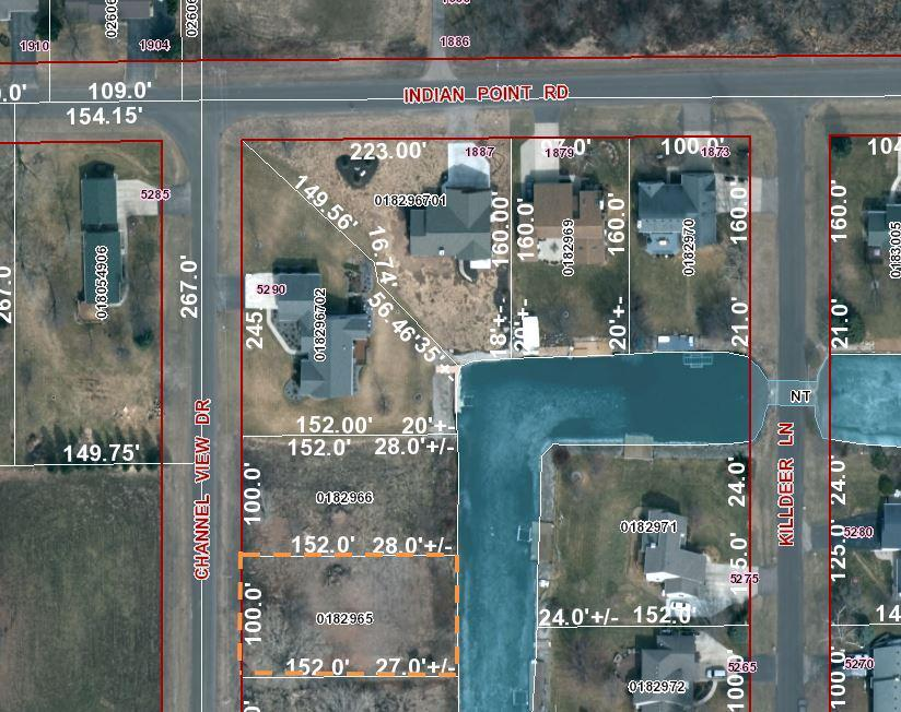 View Vacant Land For Sale at CHANNEL VIEW DRIVE, Oshkosh, WI