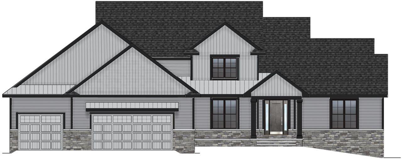 View Single-Family Home For Sale at 4897 PRAIRIE SCHOOL DRIVE, Hobart, WI