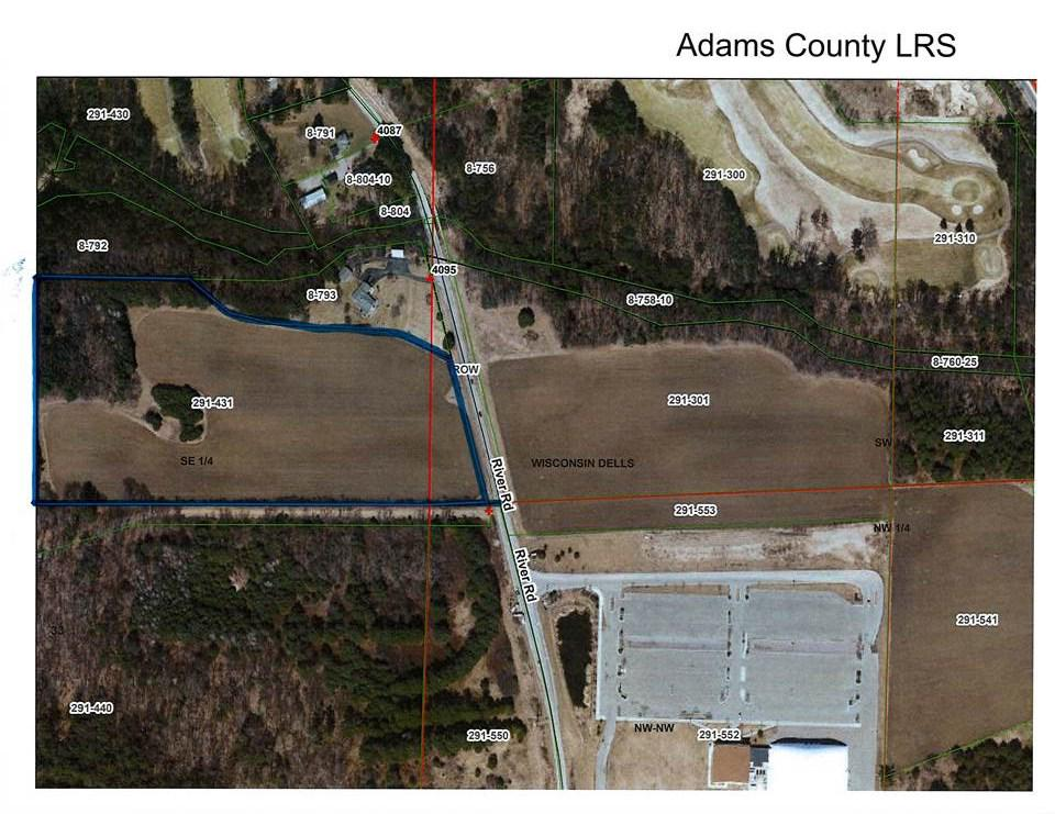 View Vacant Land For Sale at 18.73 AC River Rd, Wisconsin Dells, WI