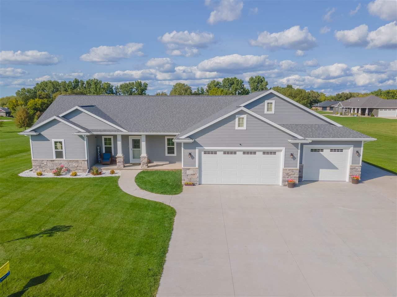 View Single-Family Home For Sale at 5152 NOTRE DAME DRIVE, Omro, WI