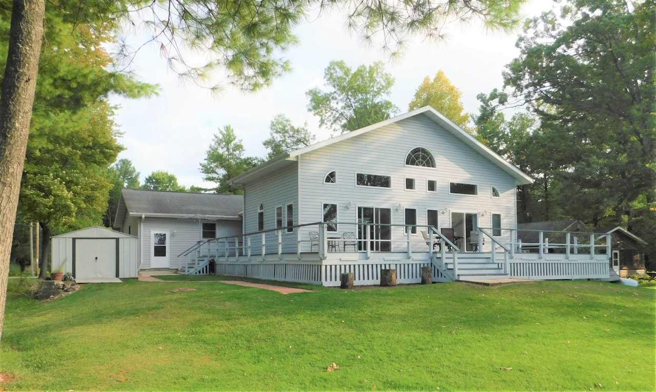 View Single-Family Home For Sale at W8530 LAKE VIEW CIRCLE, Clintonville, WI
