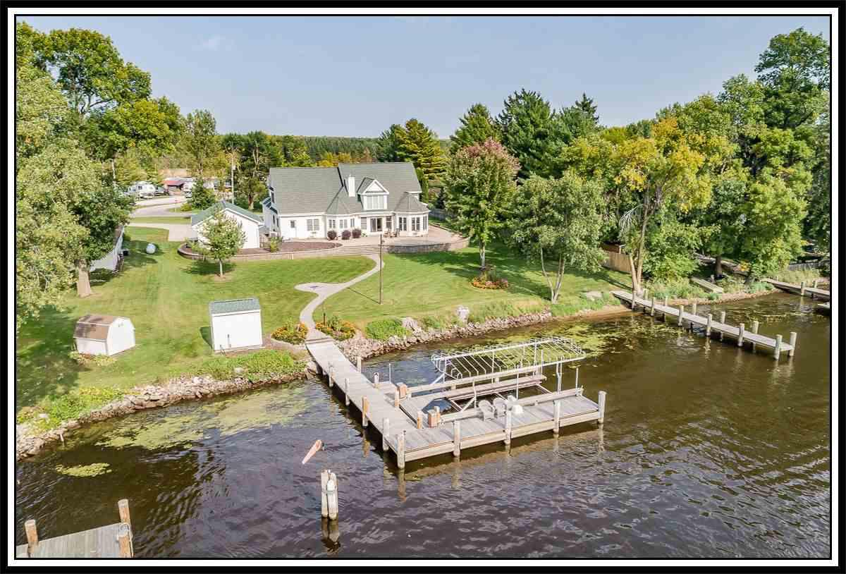 View Single-Family Home For Sale at 9301 RIVERVIEW DRIVE, Fremont, WI