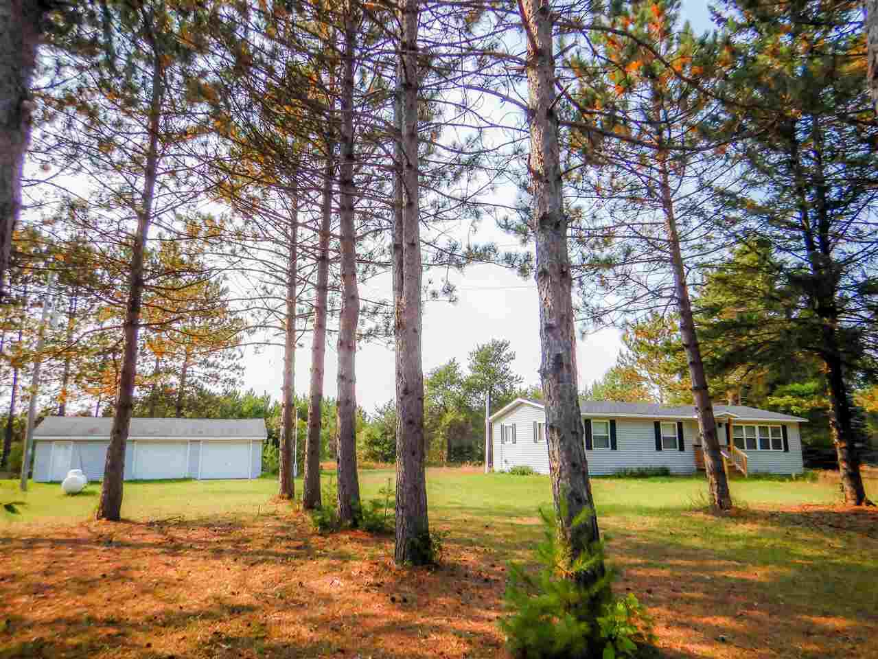 View Single-Family Home For Sale at N6329 HWY 141, Crivitz, WI