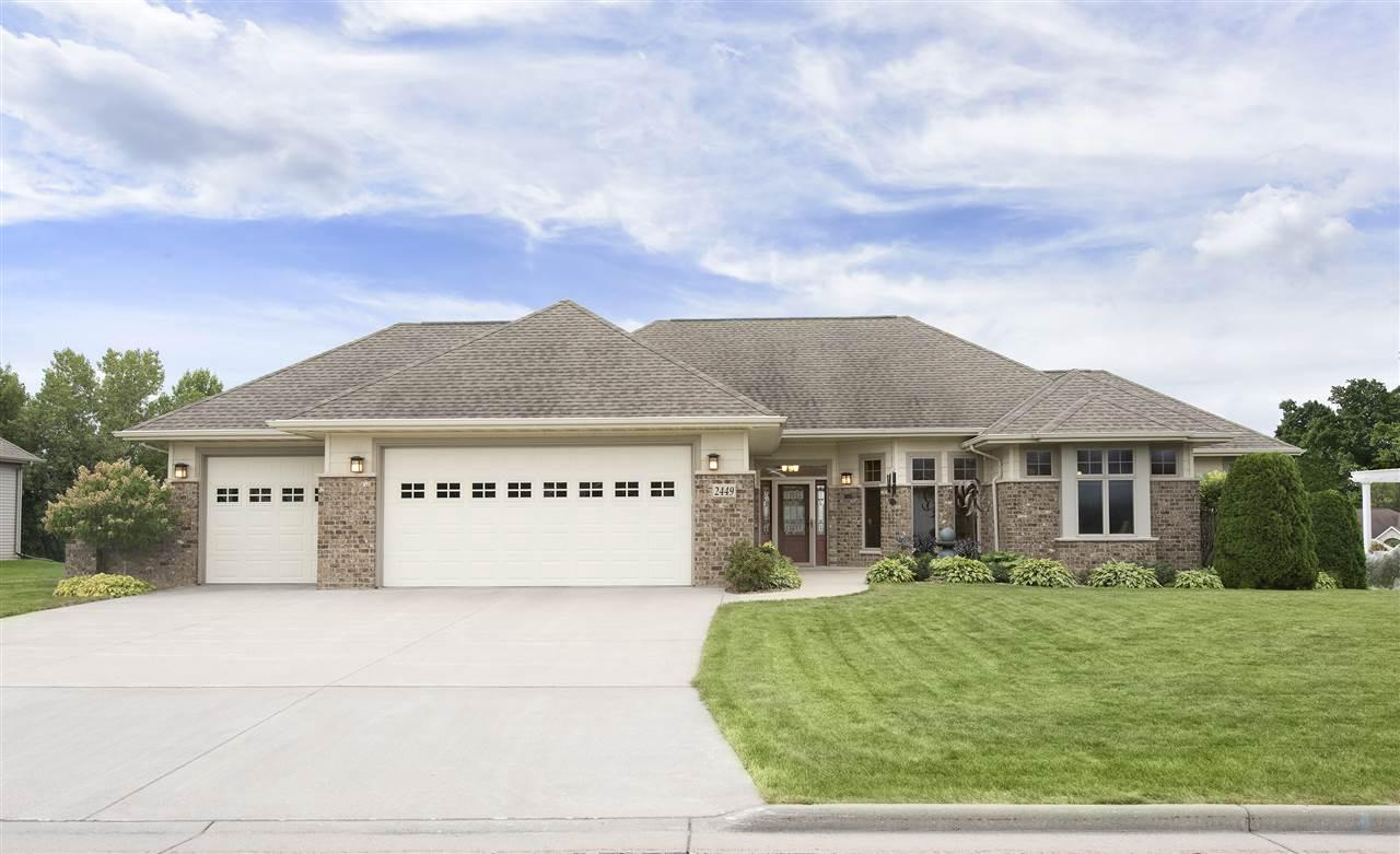 View Single-Family Home For Sale at 2449 WHISTLING SWAN COURT, Menasha, WI