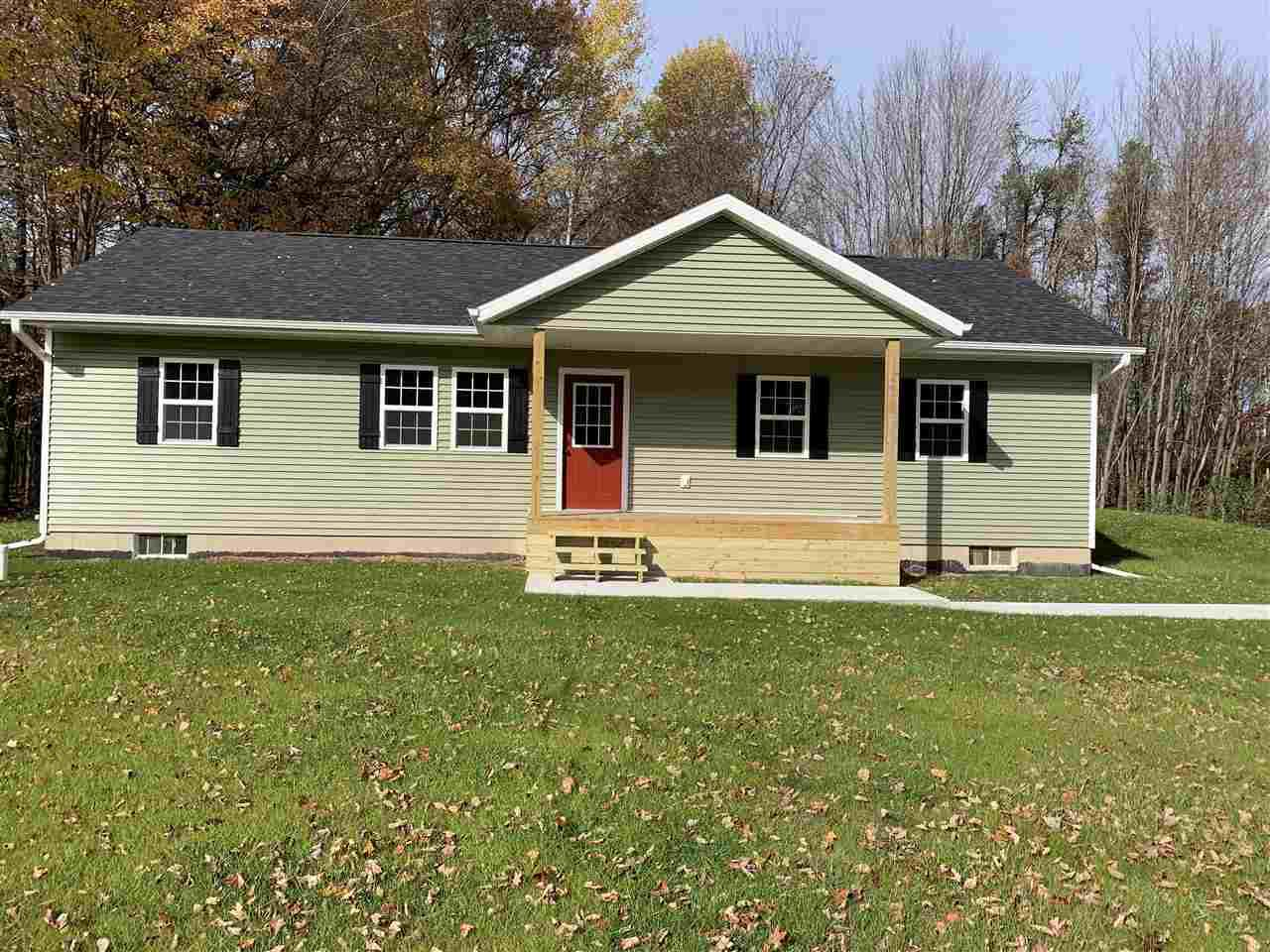 View Single-Family Home For Sale at W1712 HWY B, Marinette, WI
