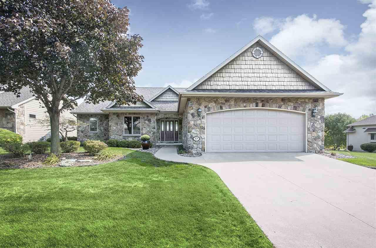 View Single-Family Home For Sale at 829 WHISPER FALLS LANE, Menasha, WI