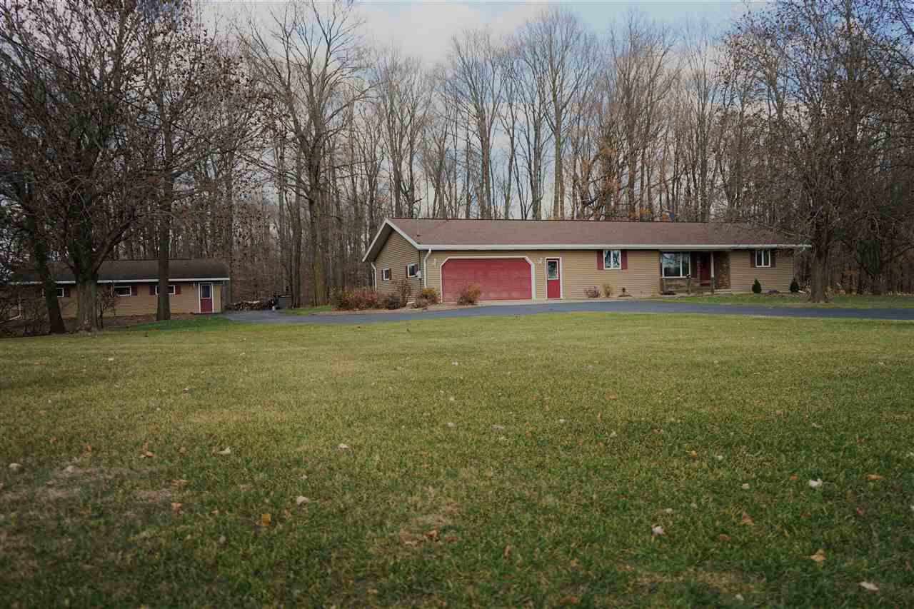 View Single-Family Home For Sale at W6494 CENTER VALLEY ROAD, Shiocton, WI