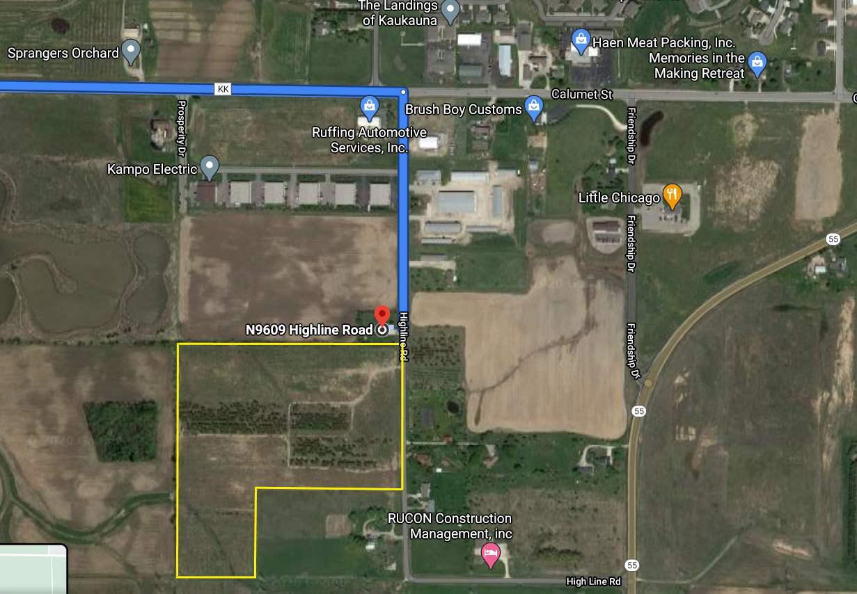 View Vacant Land For Sale at HIGHLINE ROAD, Kaukauna, WI