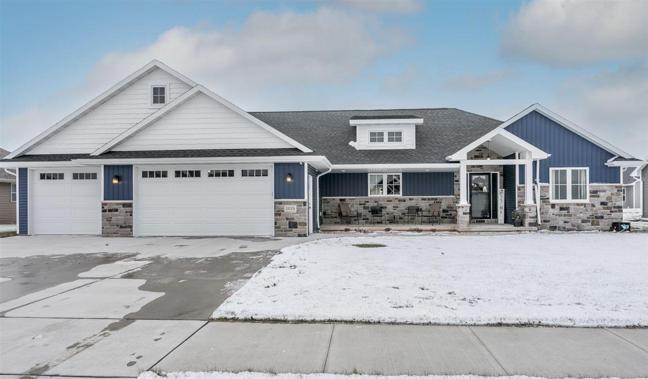 View Single-Family Home For Sale at 1019 NUTMEG DRIVE, De Pere, WI