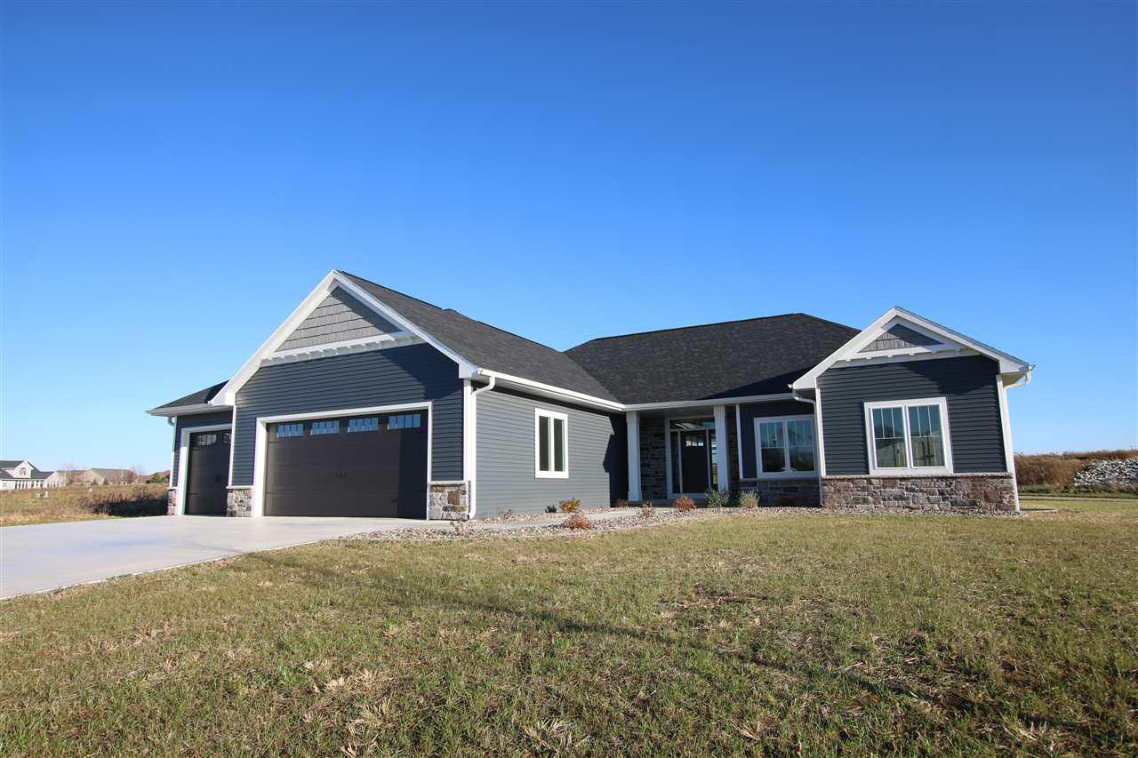 View Single-Family Home For Sale at W7059 RIDGELINE TRAIL, Greenville, WI