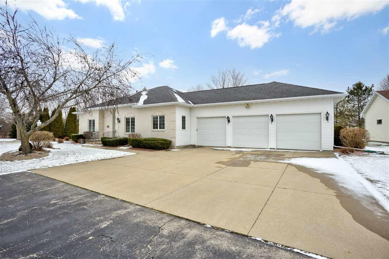 View Single-Family Home For Sale at W2553 RIDGEBROOK COURT, Appleton, WI