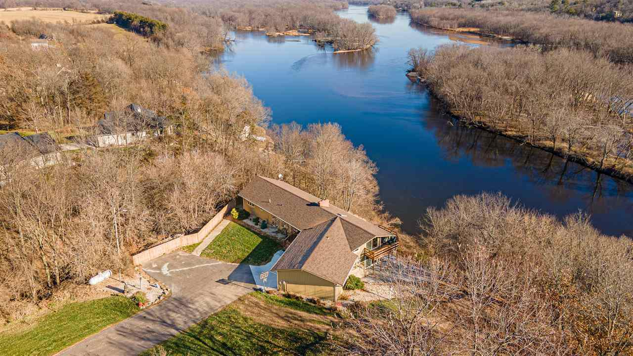 View Single-Family Home For Sale at N5030 County Road U, Portage, WI