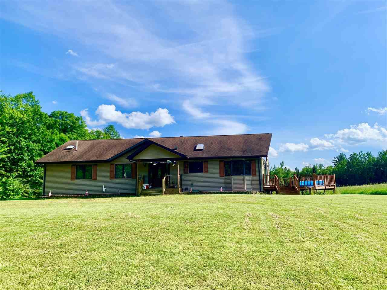 View Single-Family Home For Sale at W9505 MOONSHINE HILL ROAD, Stephenson, WI