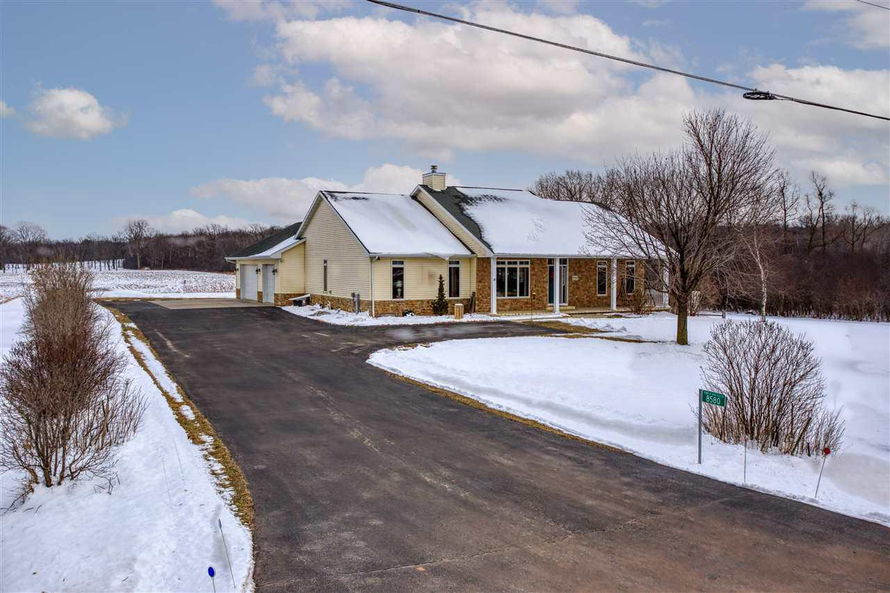 View Single-Family Home For Sale at 8580 SOUTH LOOP ROAD, Larsen, WI