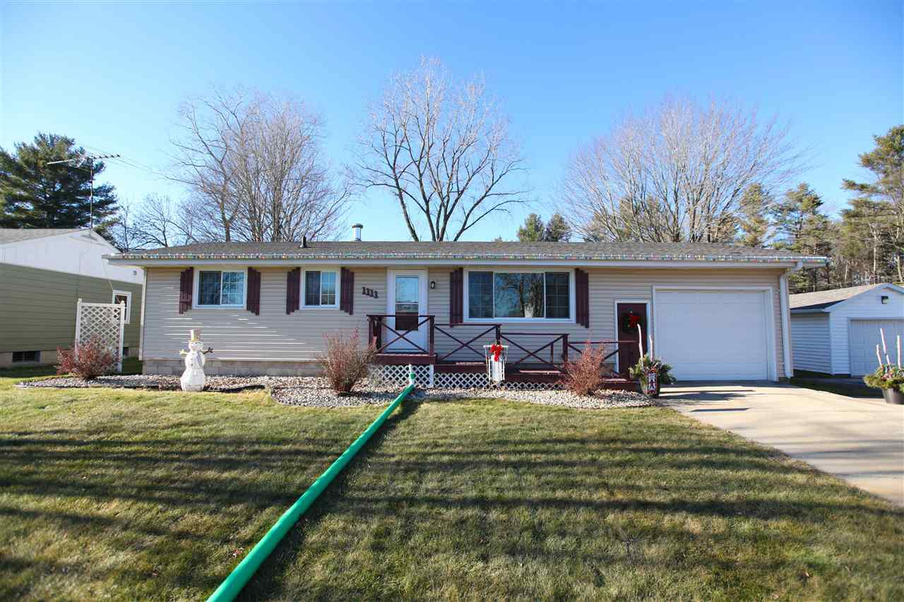 View Single-Family Home For Sale at 1111 SUNNYFIELD COURT, Marinette, WI