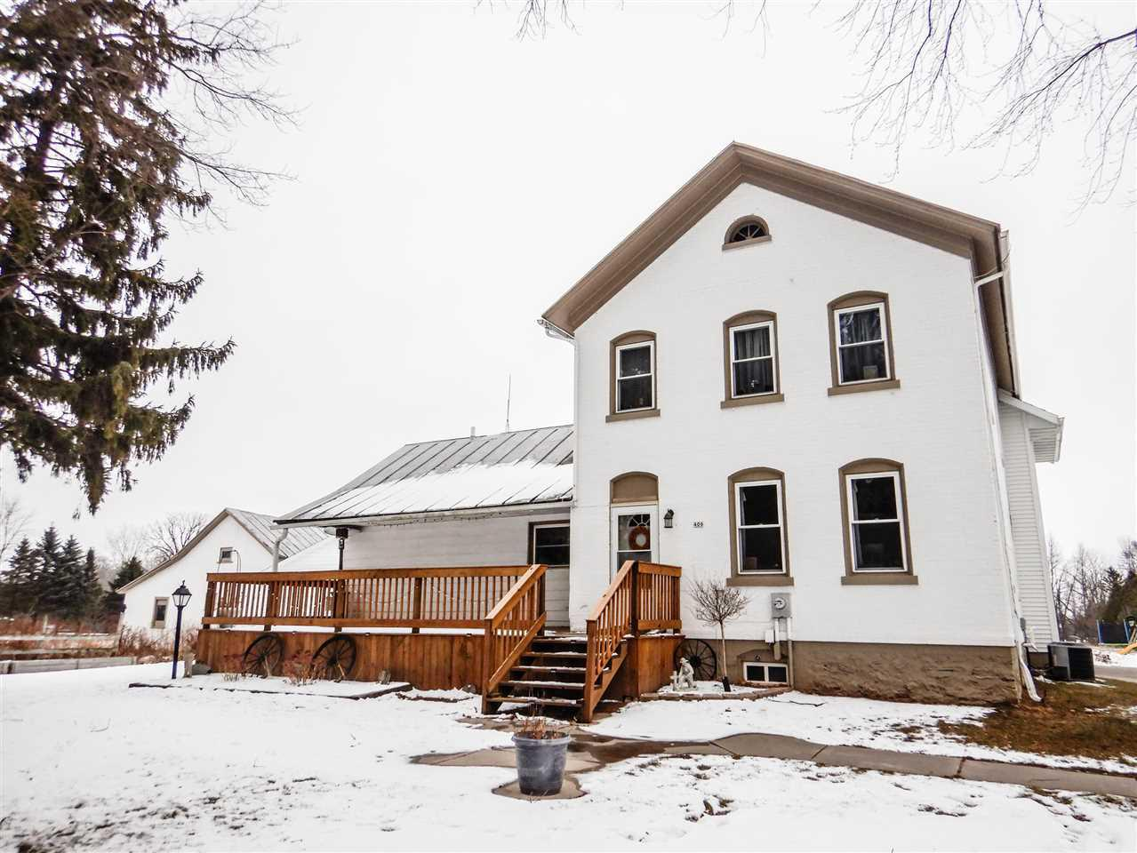 View Single-Family Home For Sale at 406 N 6TH STREET, Reedsville, WI