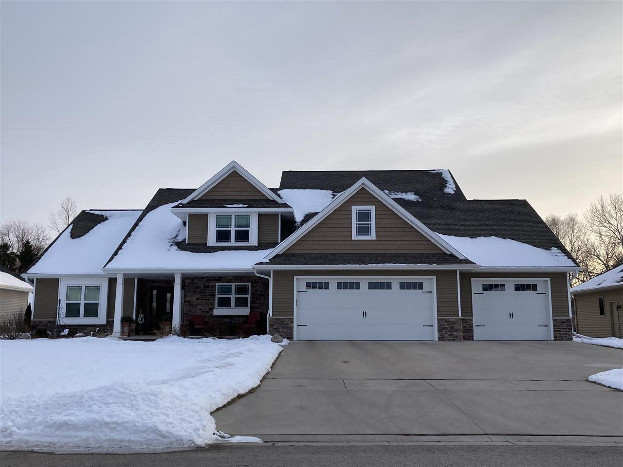 View Single-Family Home For Sale at 1017 HOKS RIDGE LANE, De Pere, WI