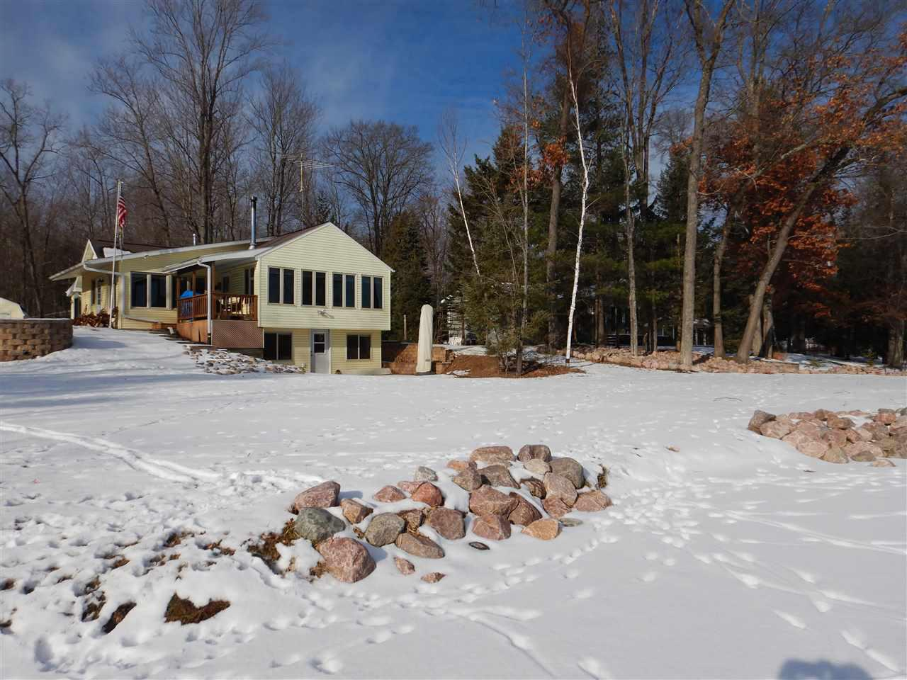 View Single-Family Home For Sale at 16296 WABOOSE DRIVE, Crivitz, WI
