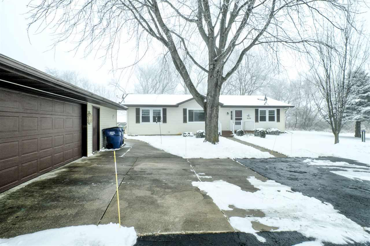 View Single-Family Home For Sale at N4951 HAMPLE ROAD, Black Creek, WI