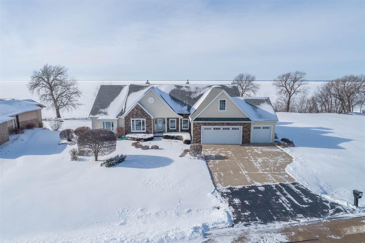 View Single-Family Home For Sale at N7773 WINDSWEPT LANE, Sherwood, WI