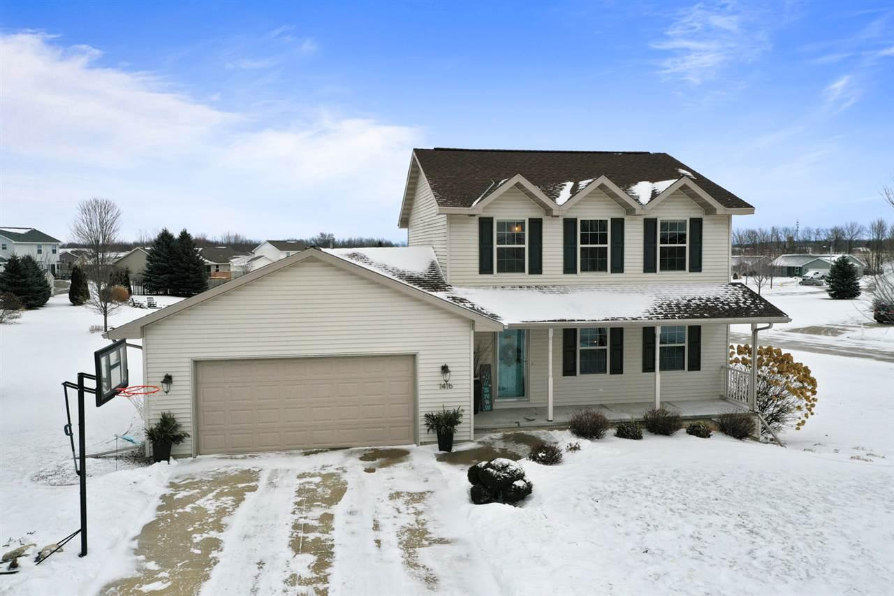 View Single-Family Home For Sale at 1416 INSPIRATION WAY, New Franken, WI