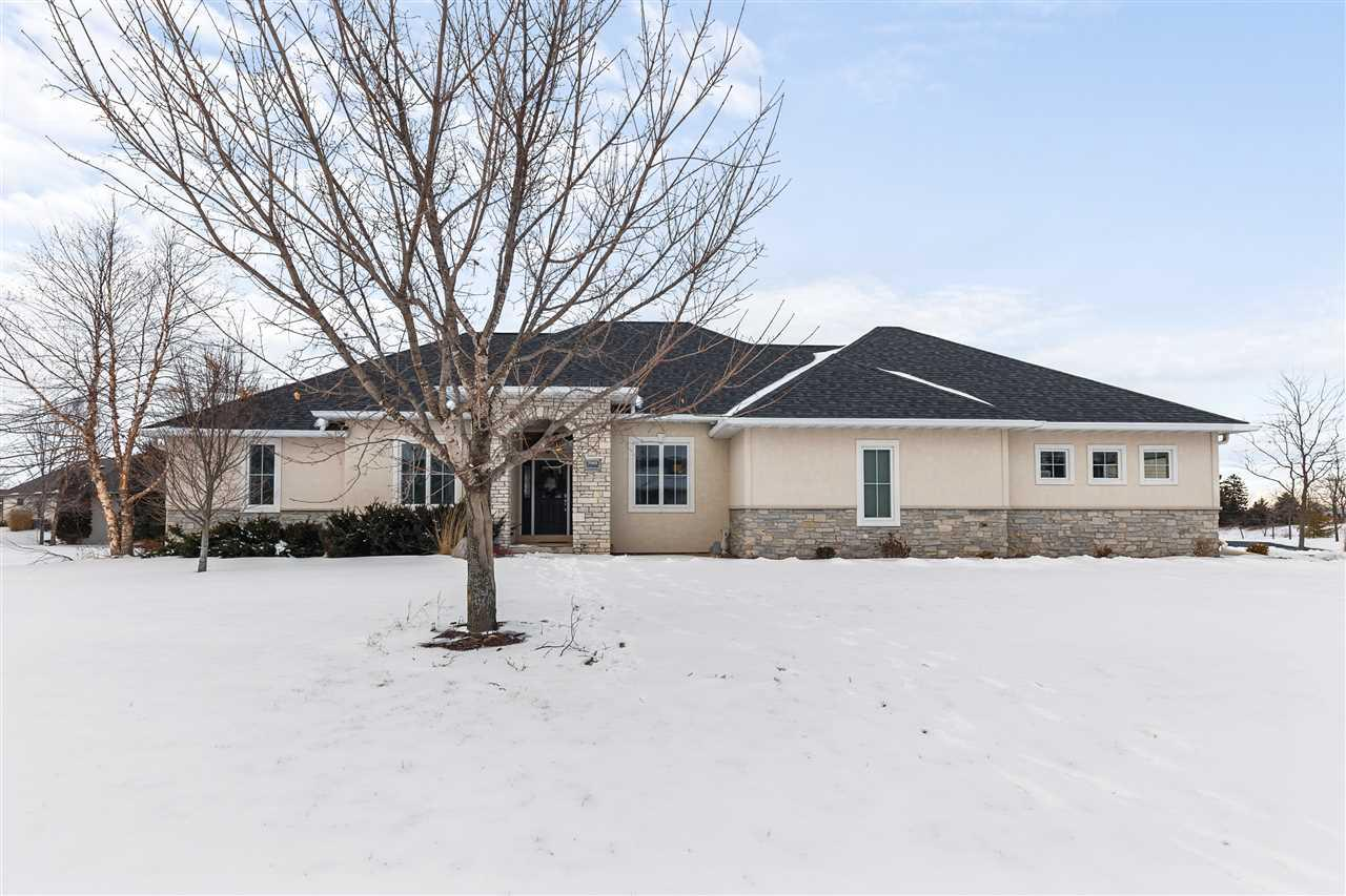 View Single-Family Home For Sale at N1421 MEADOW PARK DRIVE, Greenville, WI
