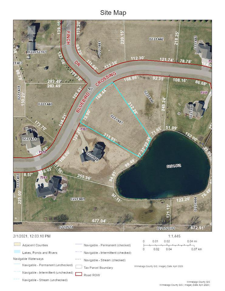 View Vacant Land For Sale at BLUEBIRD CROSSING, Omro, WI